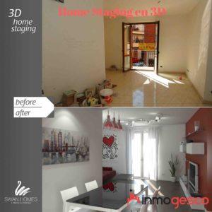 Home Staging 3d: Ejemplos de imágenes